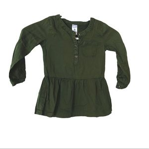Carter's Girl Olive Top
